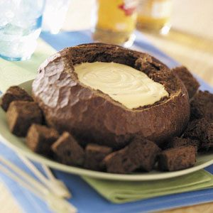 Beer Cheese in a Bread Bowl Recipe