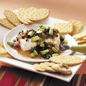 Fiesta Cream Cheese Spread Recipe