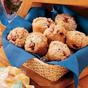 Streusel Raspberry Muffins Recipe
