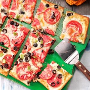 Tasty Tomato Pizza Recipe