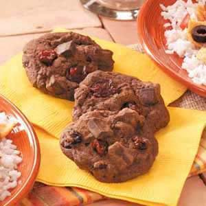 Cherry Chocolate Chunk Cookies Recipe