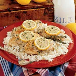 Baked Lemon Chicken Recipe