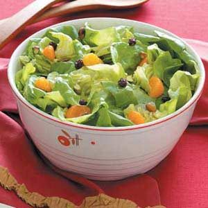 Pistachio Lettuce Salad
