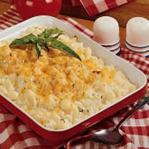 Potato Cheese Casserole Recipe