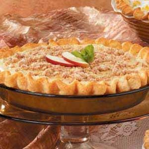 Maple-Cream Apple Pie Recipe
