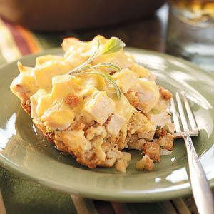 Chicken 'n' Dressing Casserole Recipe