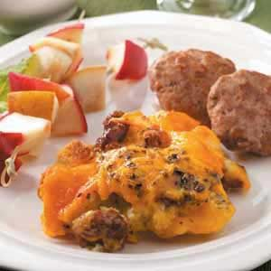 Italian Sausage Egg Bake Recipe