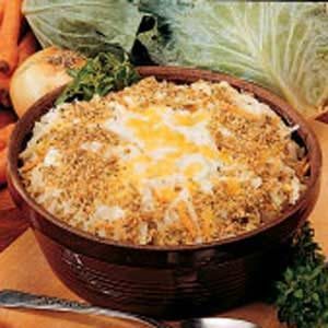 Scalloped Cabbage Casserole Recipe