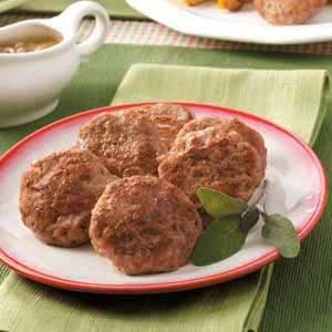 Homemade Breakfast Patties Recipe