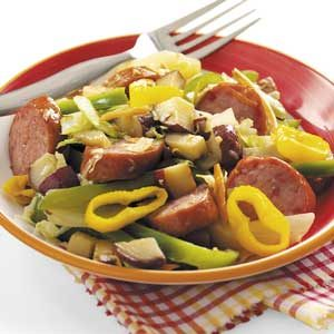 Smoked Sausage and Veggies Recipe