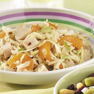 Mandarin Chicken Coleslaw Recipe