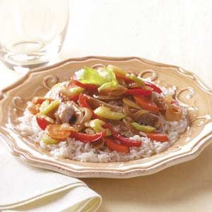 Apple Pork Stir-Fry Recipe