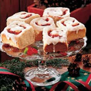 Cranberry Sweet Rolls Recipe