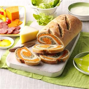 Tomato Spinach Bread Recipe