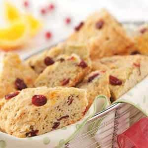 Festive Poppy Seed Scones Recipe