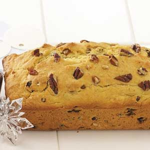 Christmas Eggnog Bread