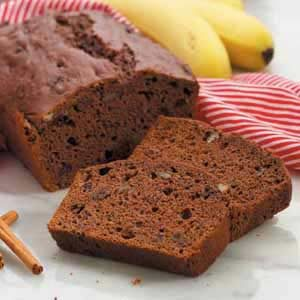 Chocolate-Cherry Banana Bread Recipe