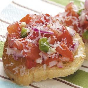 Easy Party Bruschetta Recipe