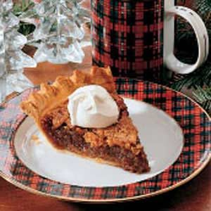 Walnut Applesauce Pie Recipe photo by Taste of Home