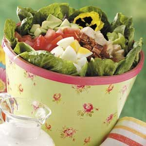 Garden Cobb Salad Recipe