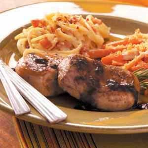 Pork Tenderloin with Wine Sauce Recipe