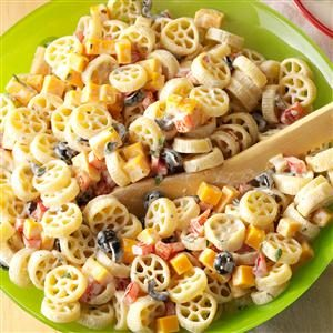 Wheely-Good Pasta Salad Recipe
