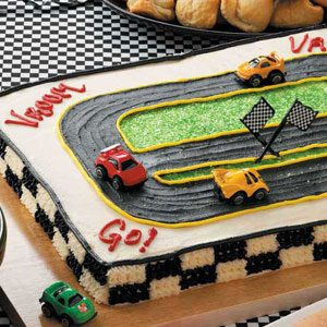 Racetrack Cake Recipe