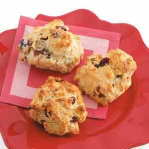 Cherry-Almond Drop Scones Recipe