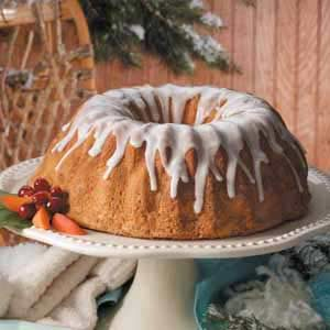 Yuletide Pound Cake Recipe