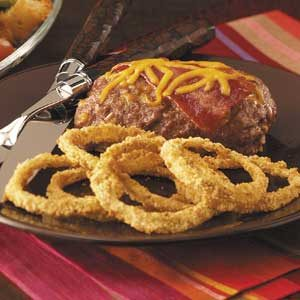 Baked Sweet Onion Rings Recipe