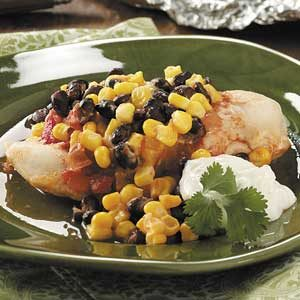 Southwestern Chicken Packets Recipe