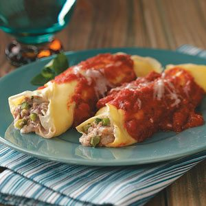 Makeover Manicotti Crepes Recipe