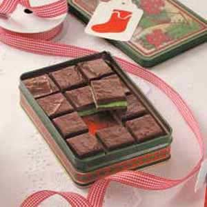 Layered Mint Fudge Recipe