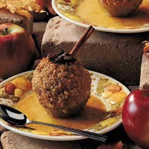 Crunchy Baked Apples Recipe