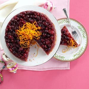 Baked Cranberry Pudding Recipe