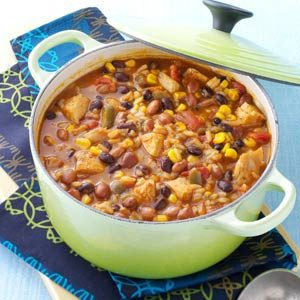 Tortilla Chicken Bean Soup