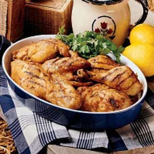 Lemon Barbecued Chicken Recipe