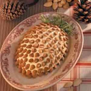 Pinecone-Shaped Blue Cheese Spread Recipe