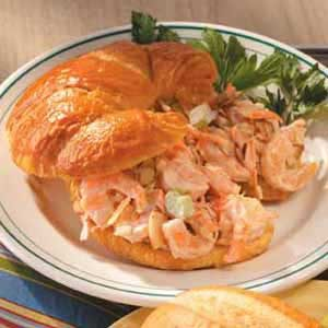 Shrimp Salad Croissants Recipe