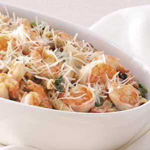 Shrimp and Penne Supper Recipe