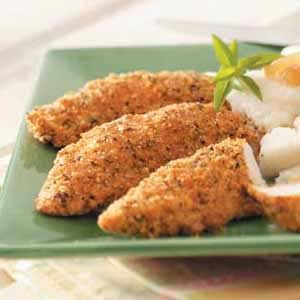Seasoned Chicken Strips Recipe