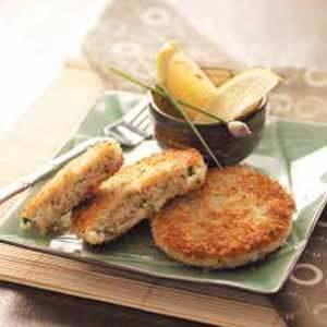 Chive Crab Cakes Recipe