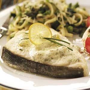 Baked Dill Halibut Recipe