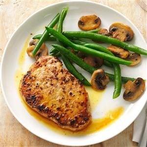 Dijon-Honey Pork Chops Recipe