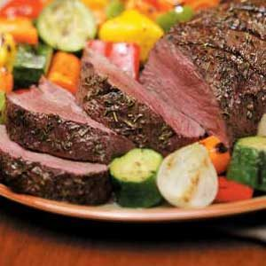 Herbed Beef Tenderloin Recipe