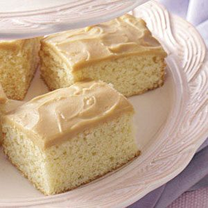 Old-Fashioned Yellow Cake Recipe
