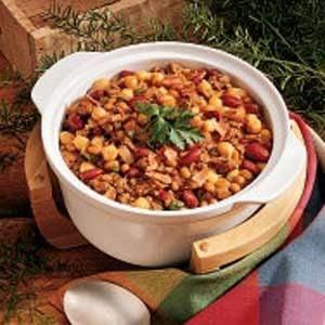 Hearty Bean Casserole Recipe