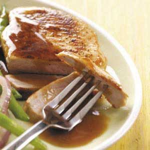 Tender Sweet 'n' Sour Pork Chops Recipe