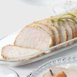 Baked Sesame Pork Tenderloin Recipe