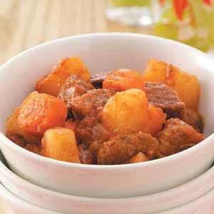 Southwestern Beef Stew Recipe